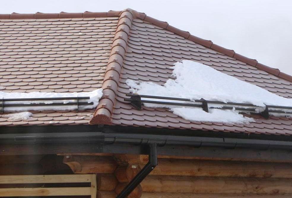 Снегозадержатели на крышу из шифера своими руками фото 98