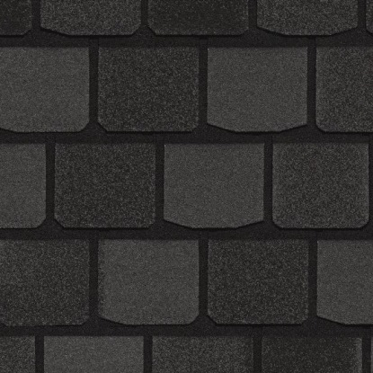 CertainTeed Highland Slate - Black Granite