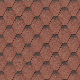 Iko Armourshield tile red