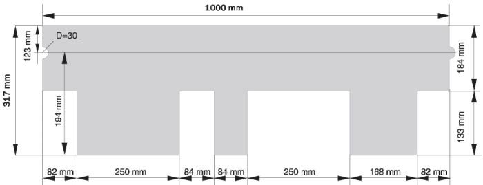 Схема черепицы Ruflex Runa