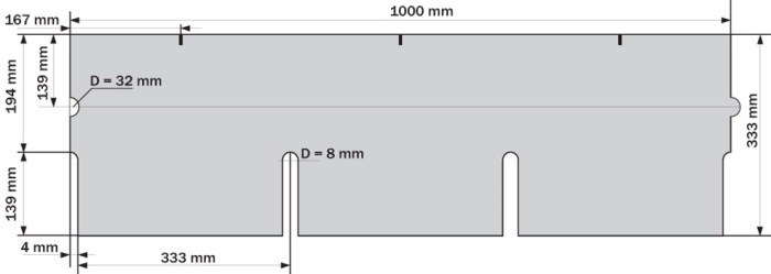 Схема черепицы Ruflex Tab