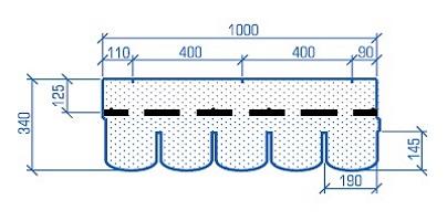 Схема гонта Тегола Антик